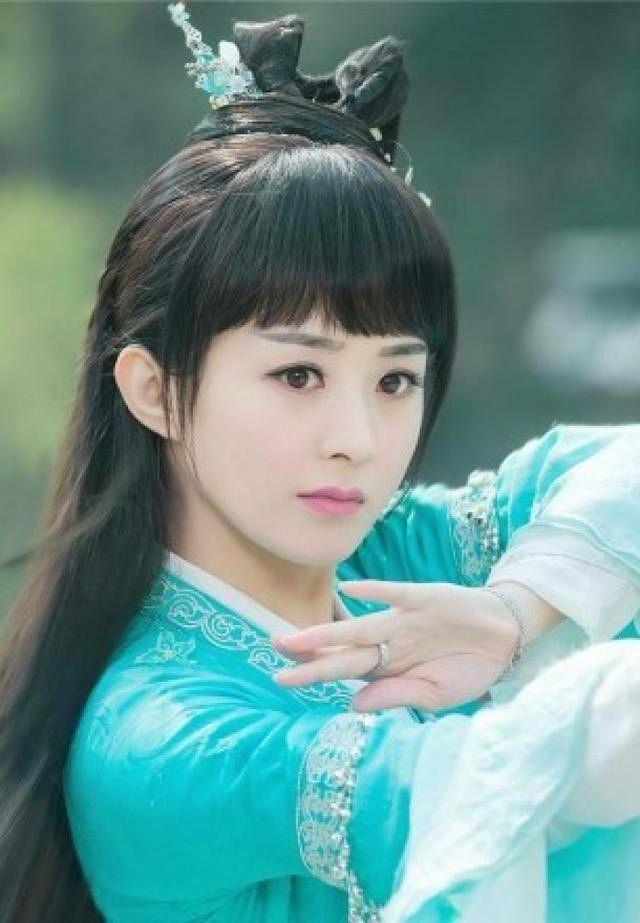 赵丽颖10大最美古装角色,第一个蠢萌,最后一张迷倒