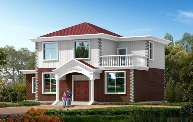 15万的农村小别墅设计图,7款建房方案,户型4建的最多
