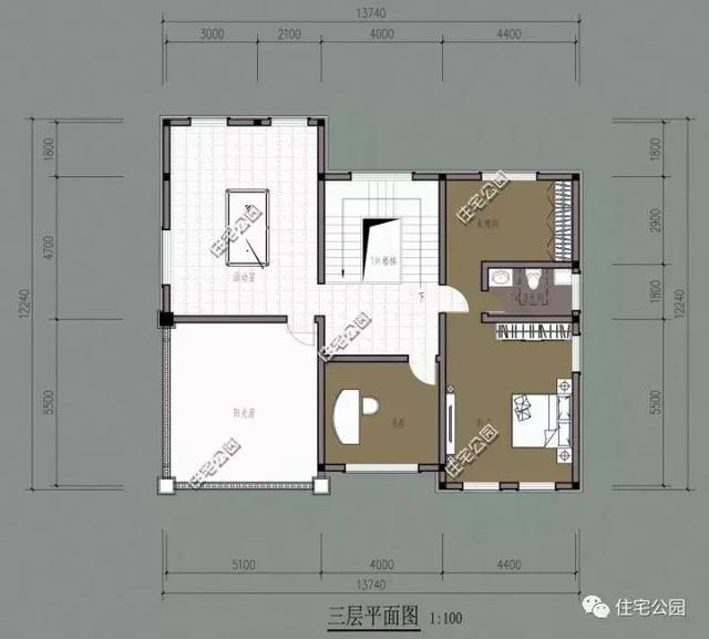 农村95平方房屋设计图