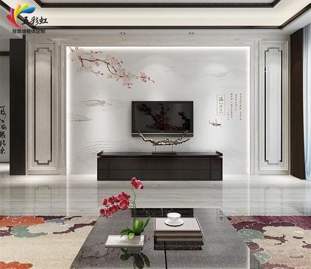 新中式电视背景墙哪款好看? 含蓄秀美, 雅中见灵!
