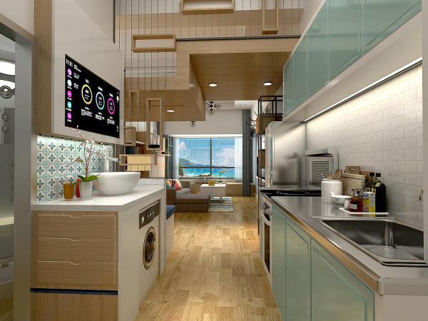 50平米小户型装修设计 二室变四室变身豪华青年公寓