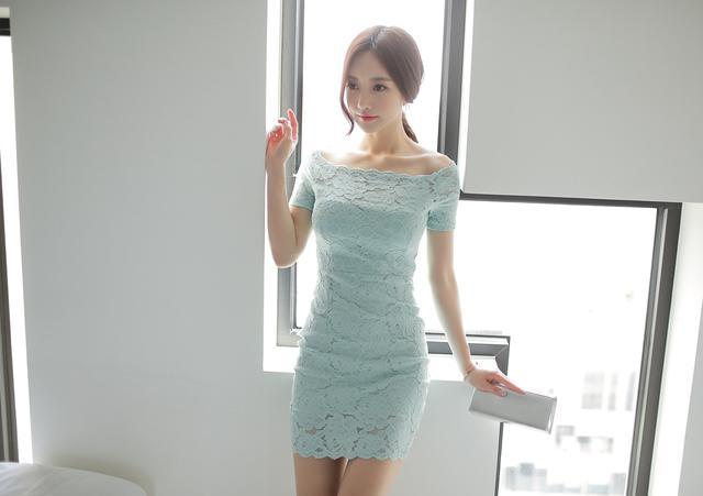 韩国小姐姐包臀连体衣酒店性感写真 养眼图片 第23张