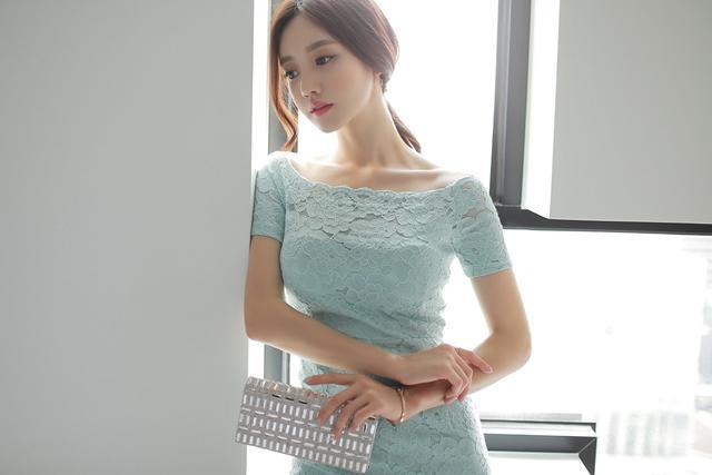 韩国小姐姐包臀连体衣酒店性感写真 养眼图片 第14张