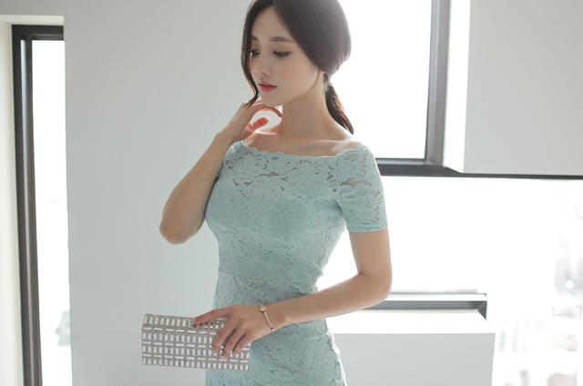 韩国小姐姐包臀连体衣酒店性感写真 养眼图片 第5张