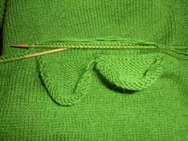 「旅行青蛙」为你的蛙儿子织一件温暖的连体裤(附图解) 时尚潮流 第17张