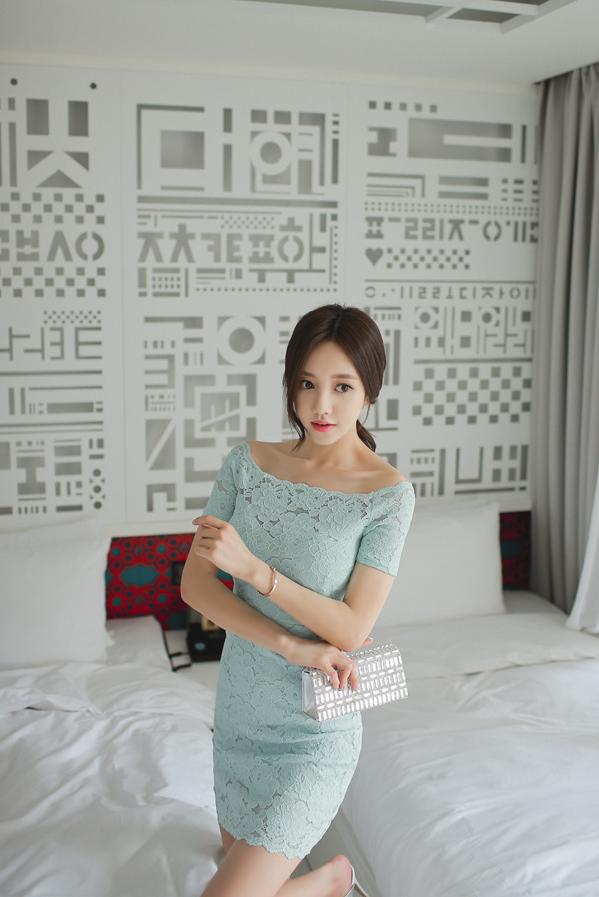 韩国小姐姐包臀连体衣酒店性感写真 养眼图片 第22张