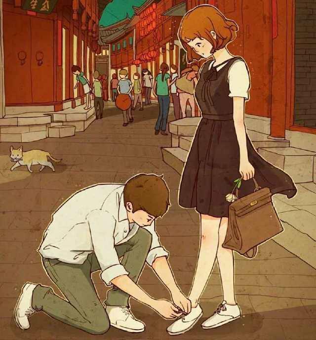 一个男人如果能给你这几种感觉,那么他就是爱你的人