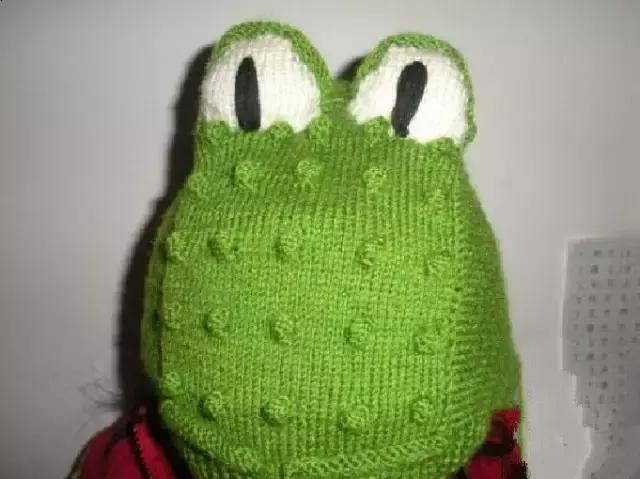 「旅行青蛙」为你的蛙儿子织一件温暖的连体裤(附图解) 时尚潮流 第20张