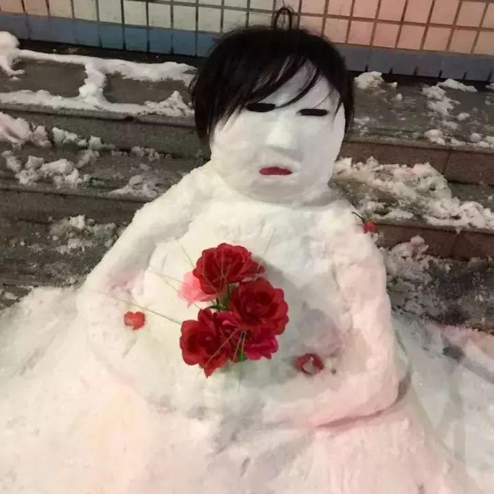 杭州保安下雪天堆出个动物园 网友:地域限制了才华 网络热点 第20张
