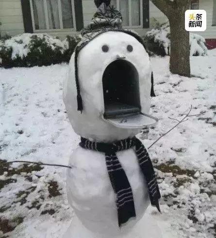 杭州保安下雪天堆出个动物园 网友:地域限制了才华 网络热点 第26张